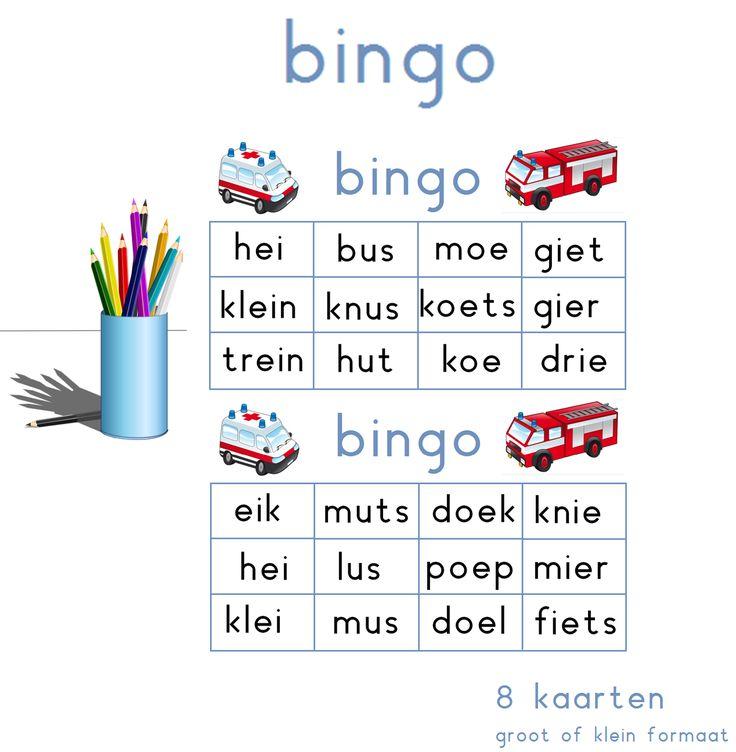 Lijn 3 Thema 4 Bingo met de letters van thema 4 - Digibord Onderbouw