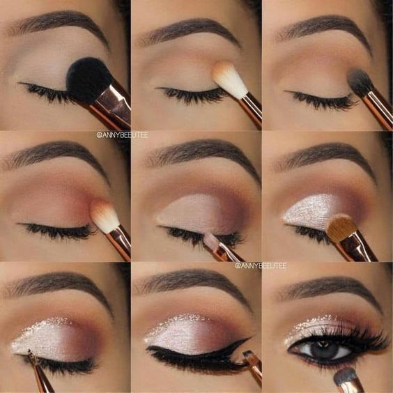 #Magnificence #Beautyblogger #Running a blog #Stunning #make-up