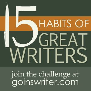 """15 habits of great writers, including """"prepare,"""" """"share,"""" """"declutter,"""" and """"publish."""" (wonderful blog)"""