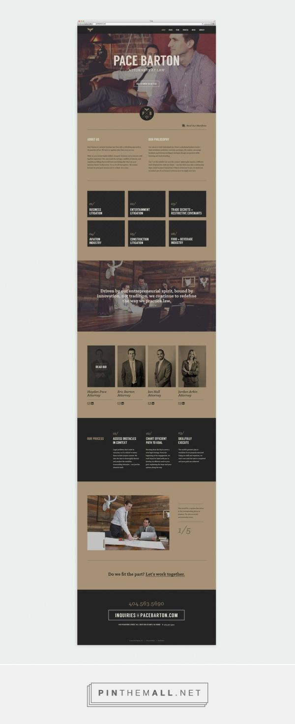 Pace Barton Law Web Design by Motto | Fivestar Branding – Design and Branding Agency & Inspiration Gallery