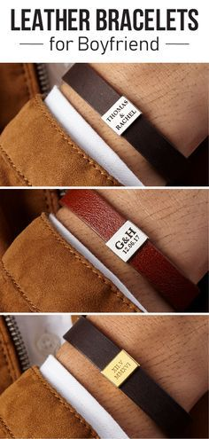 Bracelet For Boyfriend  Custom Bracelet For Him  Personalized Bracelets For Men …