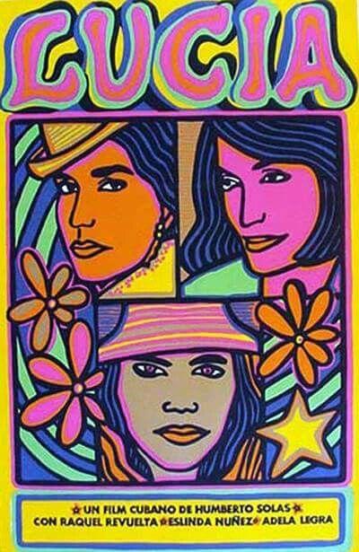 Cartel para el film cubano LUCIA de Humberto Solás