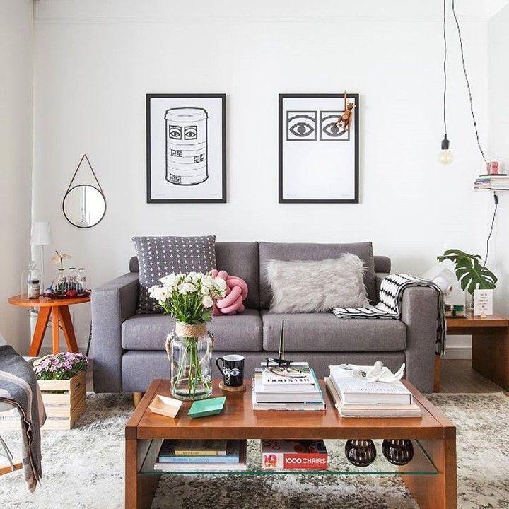 #wnętrza #sypialnia #trendy #aranżacje #mieszkanie #meble #drewno #design #inspiracje #domiwnetrze  fot. Gisele Rampazzo