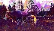 "New artwork for sale! - "" Cow Beef Alm Cattle Animal Cows  by PixBreak Art "" - http://ift.tt/2gZJd23"