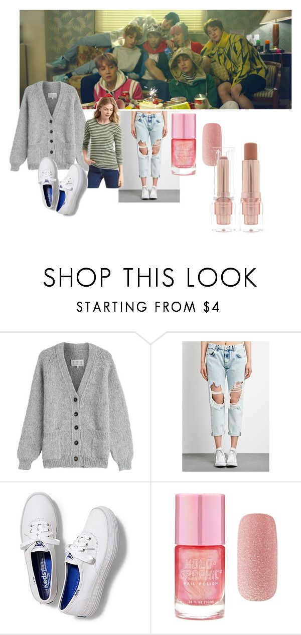 """Spring Days"" by mandalinaqitrydewi on Polyvore featuring Maison Margiela, Forever 21 and Keds"