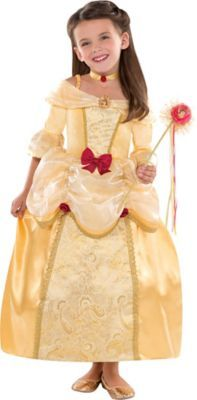 Girls Belle Costume Supreme | Party City