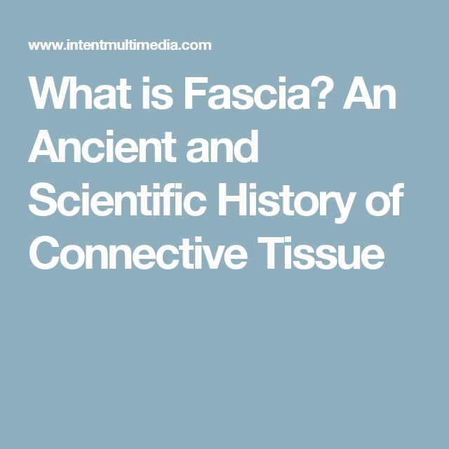 What is Fascia? An Ancient and Scientific History of Connective Tissue