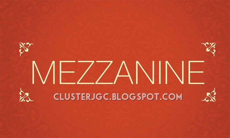 Cluster Yarra Tipe Mezzanine Jakarta Garden City