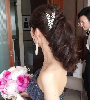 お洒落な花嫁さまのホテル婚♡ユルっと大人かわいい2STYLE♡ | 大人可愛いブライダルヘアメイク 『tiamo』 の結婚カタログ