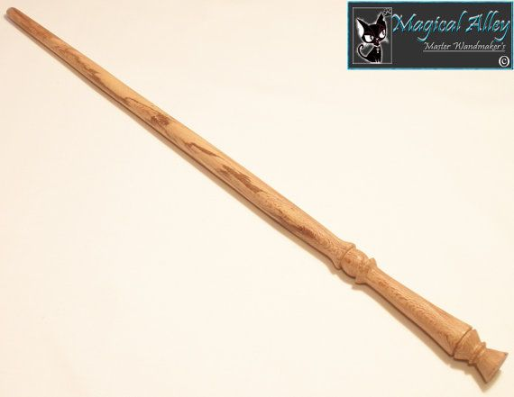 Spalted sycamore wood magic wand by magicalalley on etsy for Wand designs