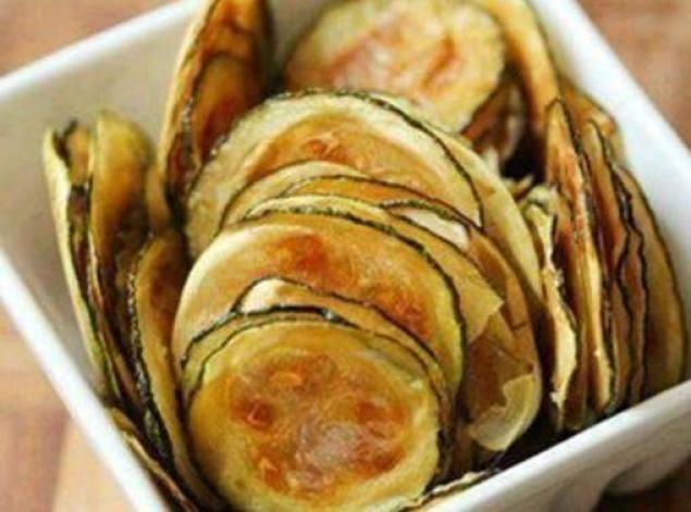 Zucchini chips: Photo - 1   Just A Pinch Recipes