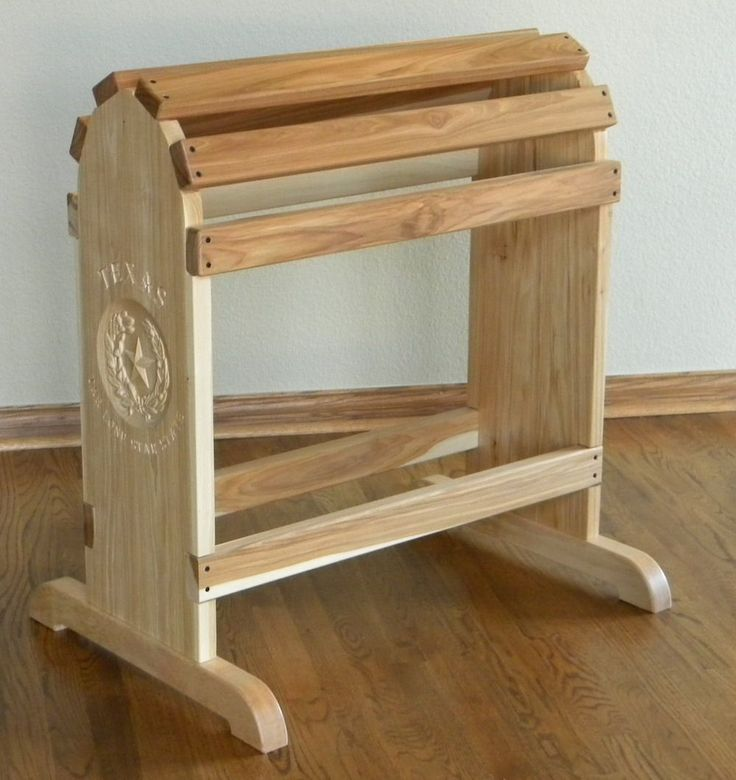 Custom Made Furniture Quality Saddle Rack