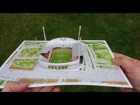 Pop Up Karte 1860 München -- Grünwalder Stadion