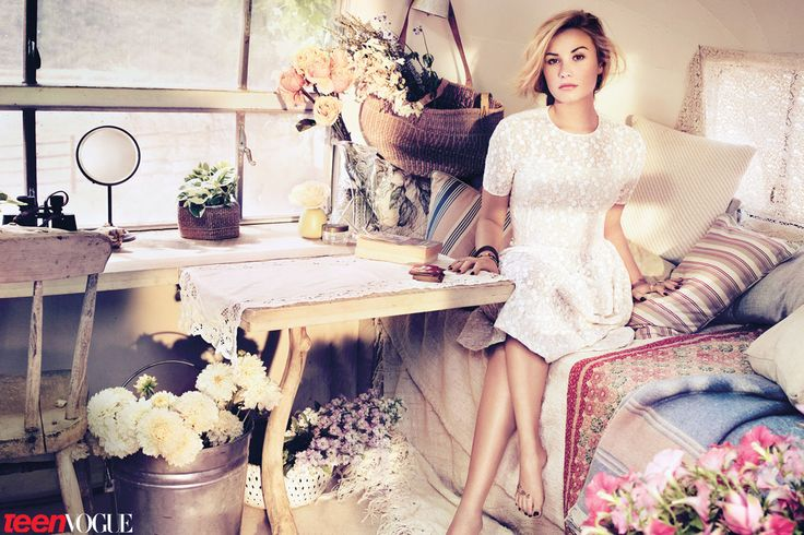 Demi Lovato, Teen Vogue, Fashion Editorial