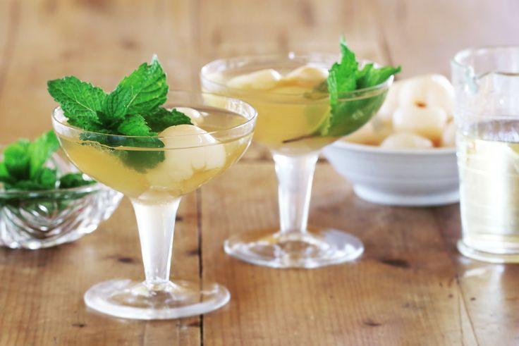 Verjuice & Lychee Martini - Maggie Beer