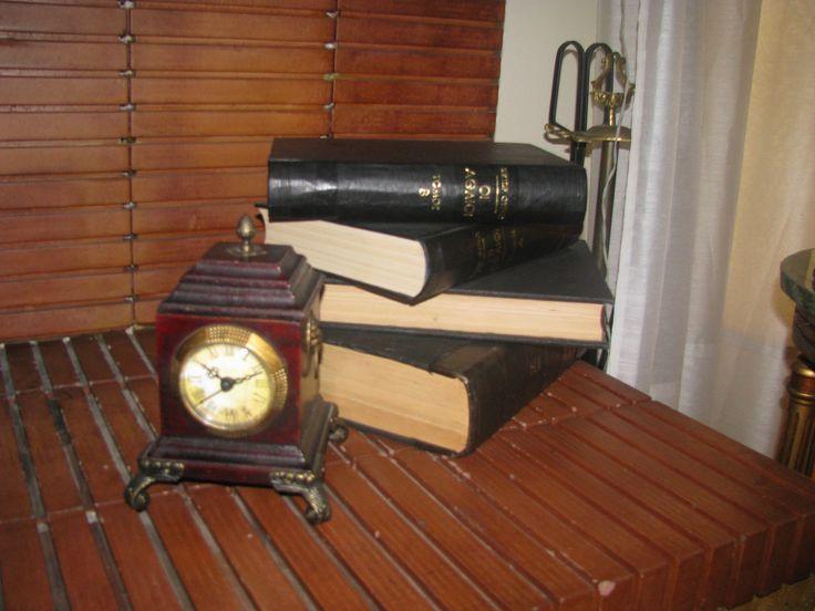 old books photo by maria koulouri