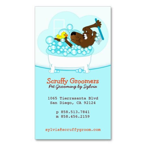 110 best business cards pet sitter images on pinterest for Pet grooming business cards