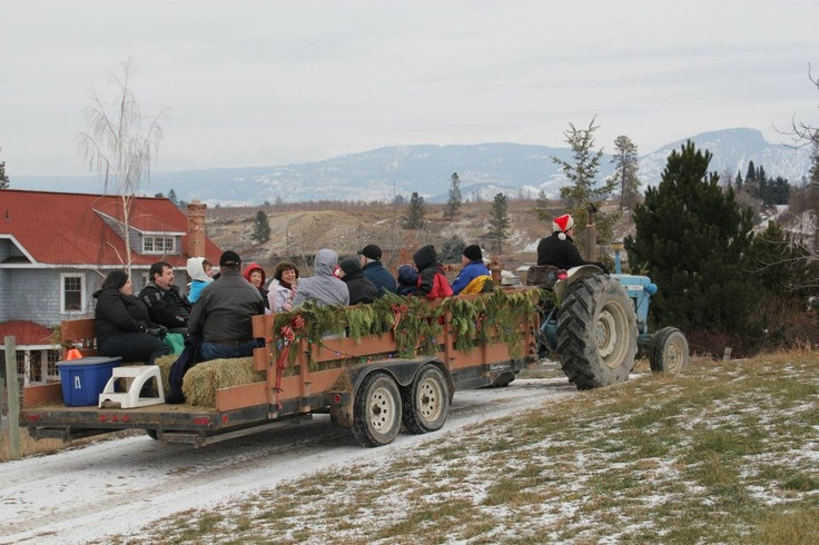 20111224 - Christmas Hayride at McMillan Farms