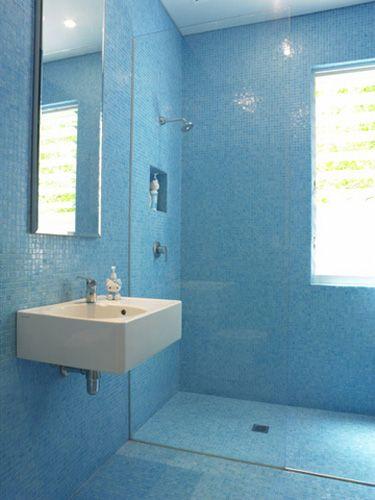 42 Best Images About Wet Room On Pinterest Blue Tiles