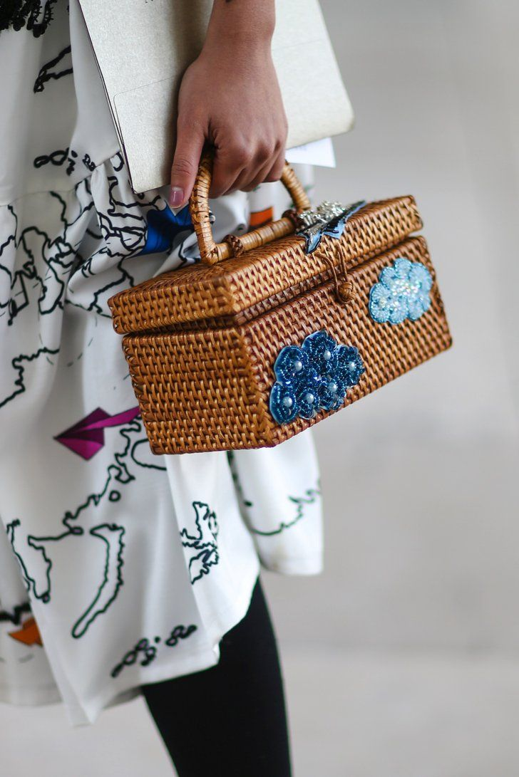 Wicker bags are perfect for Easter—and beyond.