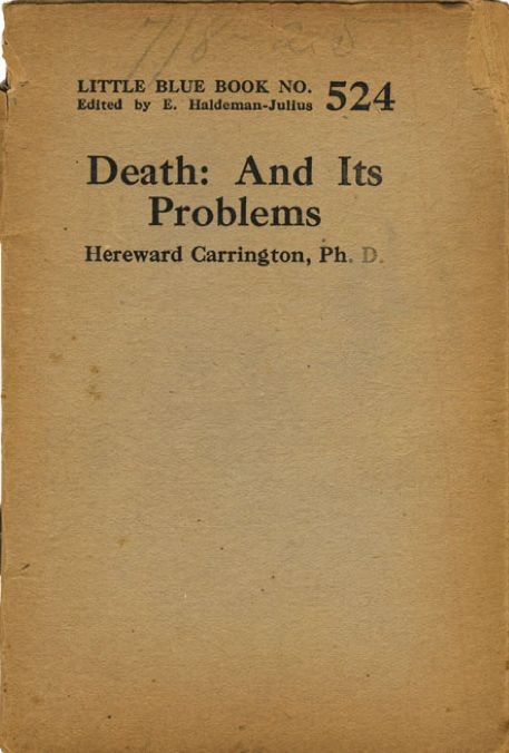 death and its problems