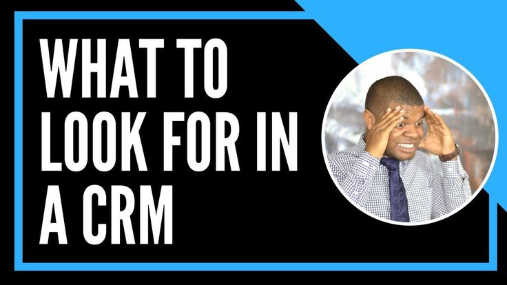 What To Look For In A Real Estate CRM  In this video, I talk about things to look for when choosing a CRM for your real estate business. If you already have a CRM or your trying to figure out the best one to use, start with this video. These CRM tips will get you started on the right path.