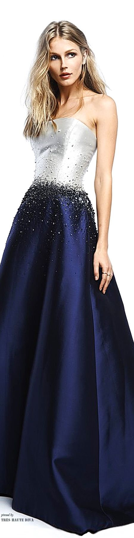 Reem Acra 2015 vestido de festa