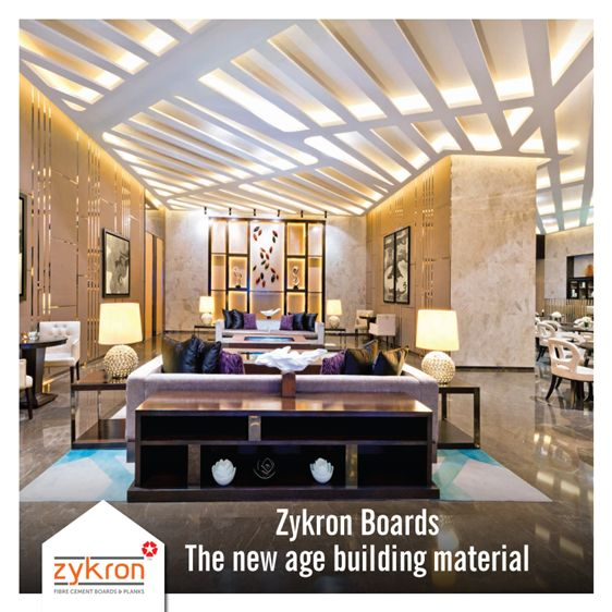 Using conventional building materials is highlytime-consumingand can be tedious for anyone. Save it allwith these ready-to-usefibre cement Zykronboards andenjoy asuperiorexperience.Explore morehere:http://www.centuryply.com/NAP/Zykron/