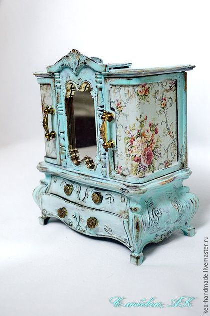 235 best Jewelry Boxes images on Pinterest Jewel box Furniture