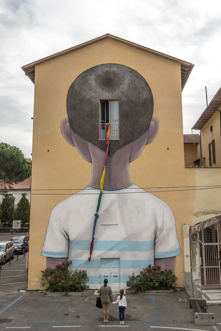 "Julien ""Seth"" Malland Arezzo, Itália www.seth.fr/en facebook.com/NouveauxExplorateursMalland"