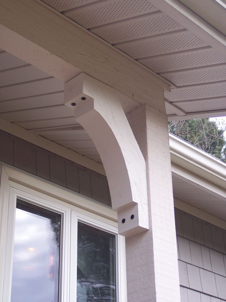 Corbels and brackets exterior