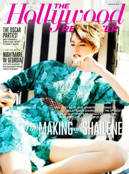 Shailene Woodley - The Hollywood Reporter Magazine Cover [United States] (14 March 2014)