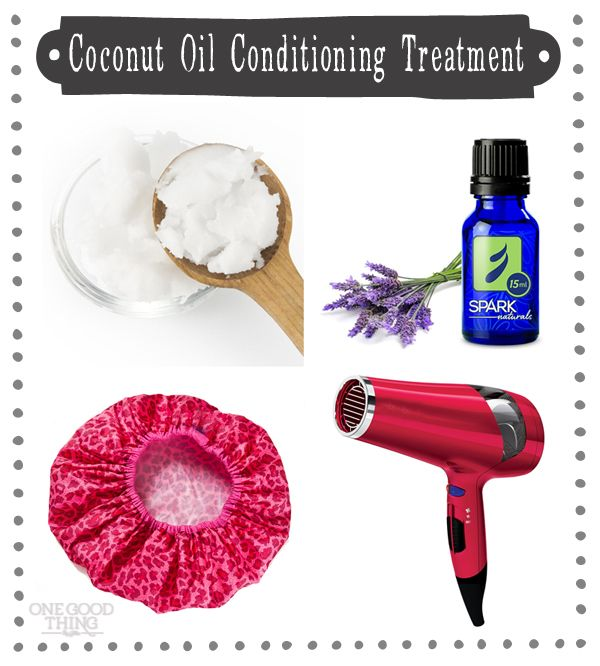 Coconut Oil Hair Treatment – Treat Your Tresses! | One Good Thing By Jillee