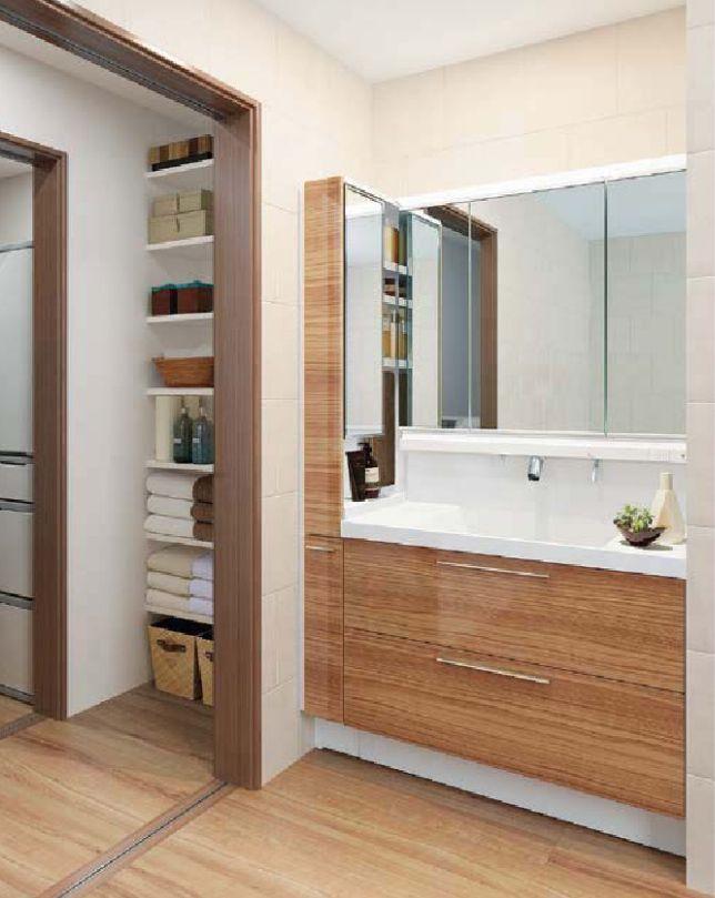 洗面台の最適な寸法の見つけ方 快適な寸法を解説 Toto 洗面台