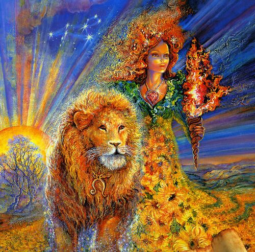 Belles Images Josephine Wall 2 Lion