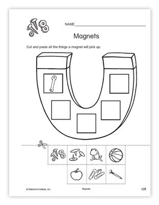 MAGNETS WORKSHEET (SCIENCE)