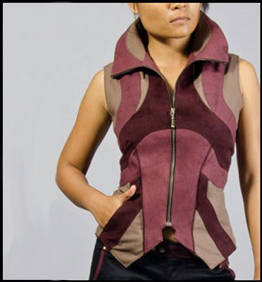 Buddhaful Trinity Vest | Delicious Boutique - I like the Earth Color better but this shows the front nicely.