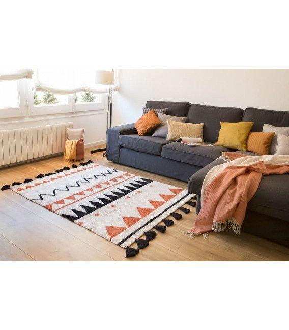 Azteca Natural Washable Rugs | Lorena Canals  #jackandjillboutique #rugs #aztec