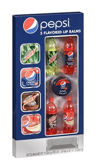 Pepsi Flavored Lip Balm, I wish I knew where you could get these