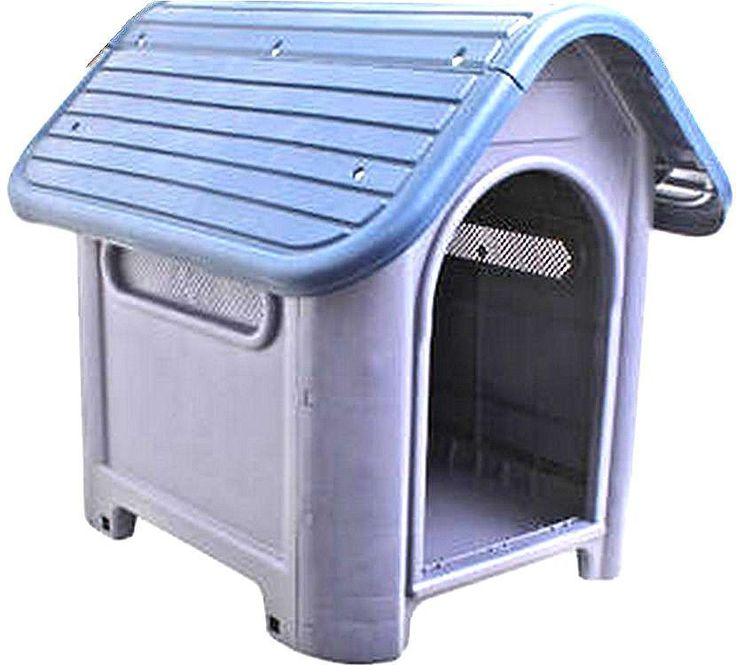 New Outdoor Dog House Small to Medium Pet All Weather Doghouse Puppy Shelter NIB #nobrand