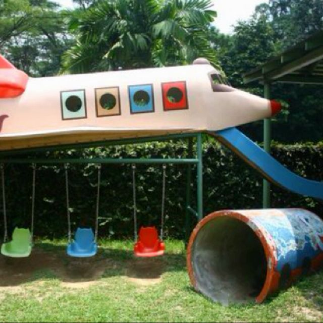 Playground Ideas For Backyard 25 playful diy backyard projects to surprise your kids Backyard Playground
