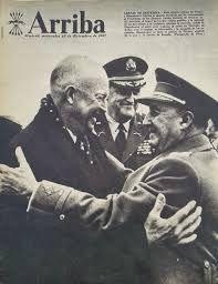 Los precedentes del pacto hispano-americano están en la entrevista que en 1951 hace la marina norteamericana con el general Franco para alcanzar un principio de acuerdo para la colaboración militar entre ambos países. Estos fueron de carácter ejecutivo ya que no llegaron a rango de tratado y se dividían en tres acuerdos: a) suministros de guerra concedidos por EE.UU a España b) ayuda económica (incluía créditos) c) defensa mutua con el establecimiento de bases militares.