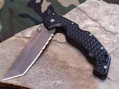 Cold Steel Voyager Folding Knife Tanto 50/50 Serrated Rescue Reversible 29TLTH http://kitchenammo.com/store/kitchen/cold-steel-voyager-folding-knife-tanto-5050-serrated-rescue-reversible-29tlth/