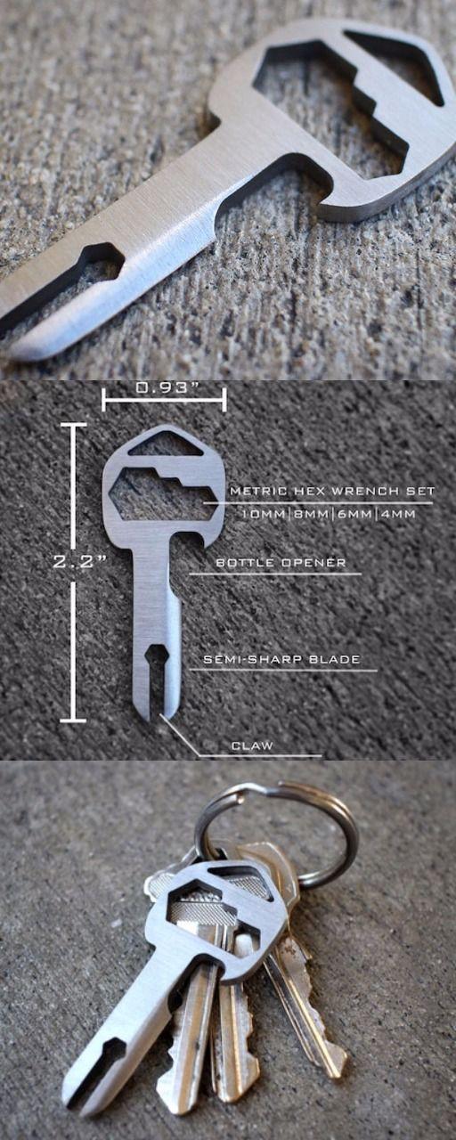 MyKee Brushed Titanium EDC Everyday Carry Multi-Tool Key @aegisgears #edc #everydaycarry
