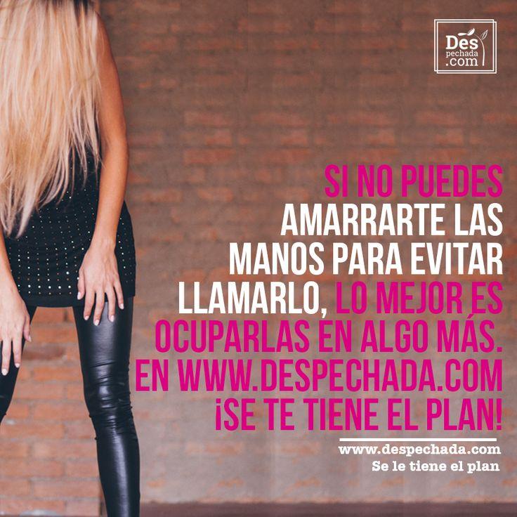 Y si vas a beber, borra su número, llamarlo es perjudicial para la salud www.despechada.com #seletieneelplan