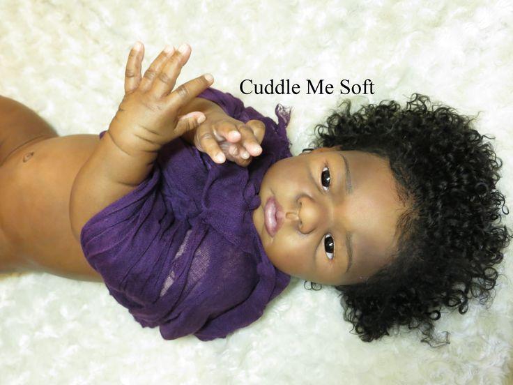 Reborn Toddler Aa African Ethnic Black Dolls Brooklyn