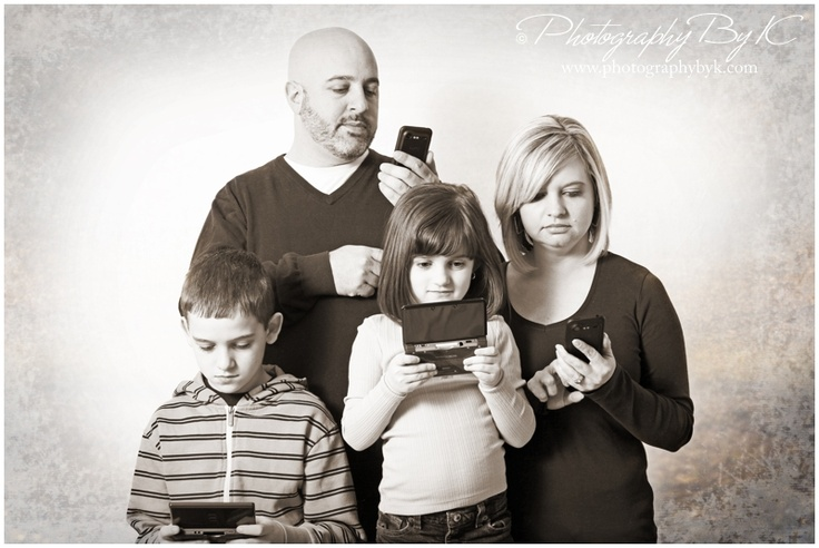 Funny Family photo.  Isn't this the truth.