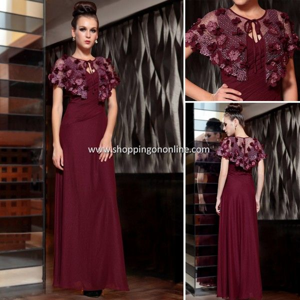 Purplish Red Long Evening Dress $206.99 Click here to see more details http://shoppingononline.com/red-evening-dresses/purplish-red-long-evening-dress.html #PurplishRedDress #RedEveningDress #DarkRedEveningDress #DarkRedDress #RedDress