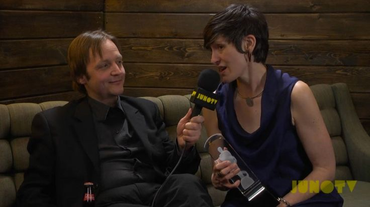 Mike Rud- Backstage at the 2014 JUNO Awards