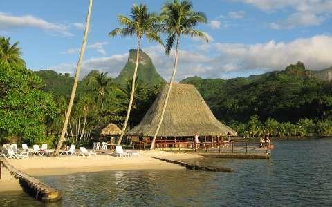 Moorea-szigete, Francia Polinézia